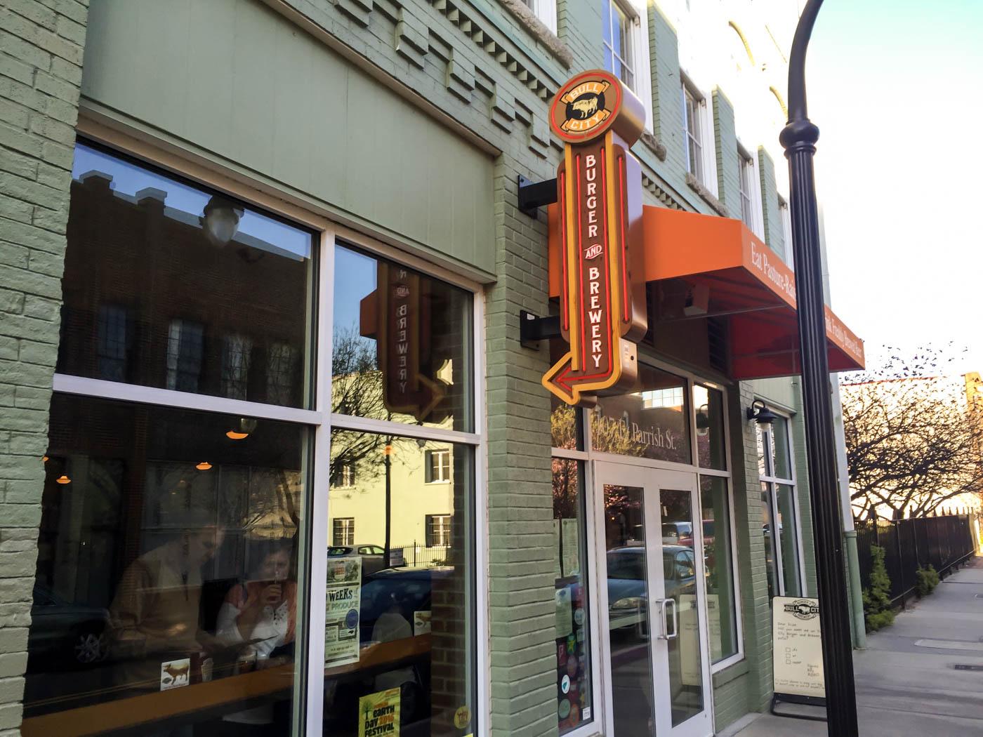 Bull City Burger And Brewery Triangle Burger Blog